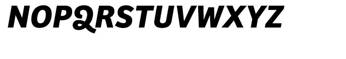 Bree Bold Oblique Font UPPERCASE