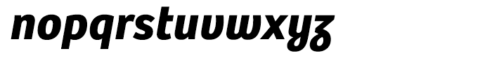 Bree Bold Oblique Font LOWERCASE