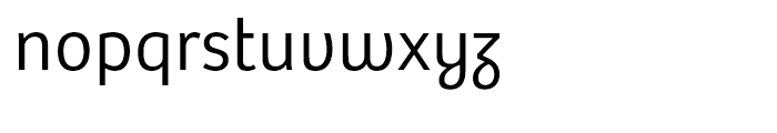 Bree Light Font LOWERCASE