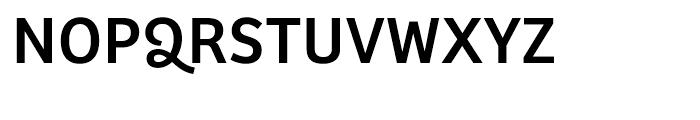 Bree Regular Font UPPERCASE