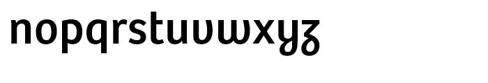 Bree Regular Font LOWERCASE