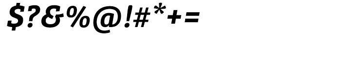 Bree Serif Semibold Italic Font OTHER CHARS