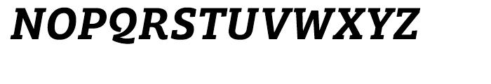 Bree Serif Semibold Italic Font UPPERCASE