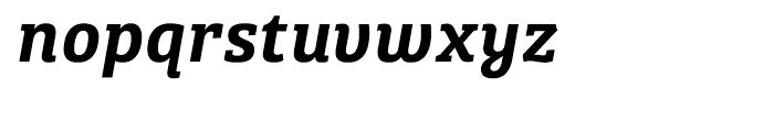 Bree Serif Semibold Italic Font LOWERCASE