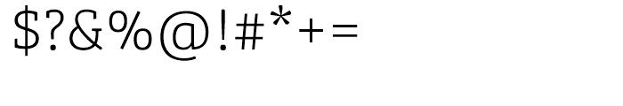 Bree Serif Thin Font OTHER CHARS