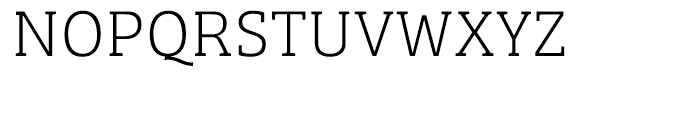 Bree Serif Thin Font UPPERCASE
