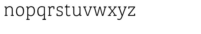 Bree Serif Thin Font LOWERCASE