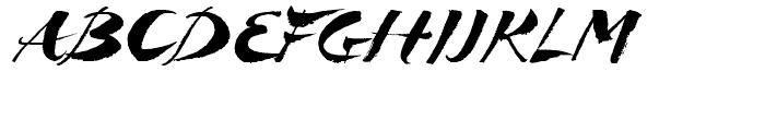 Breezy Regular Font UPPERCASE