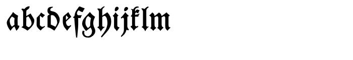 Breitkopf Fraktur Bold Font LOWERCASE