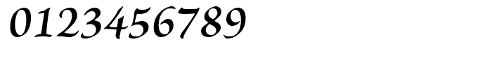 Brioso Semibold Italic Caption Font OTHER CHARS