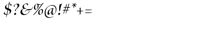 Brioso Semibold Italic Display Font OTHER CHARS