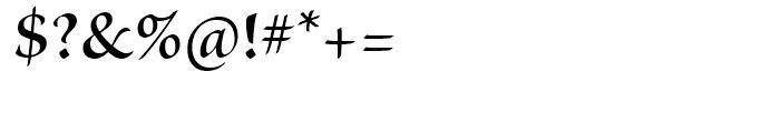 Brioso Semibold Subhead Font OTHER CHARS