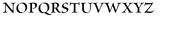 Brioso Semibold Subhead Font UPPERCASE