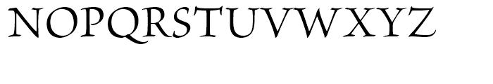 Brioso Subhead Font UPPERCASE