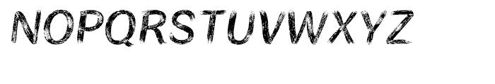 Bristles Regular Font UPPERCASE