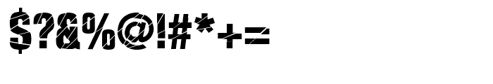 Britva Regular Font OTHER CHARS
