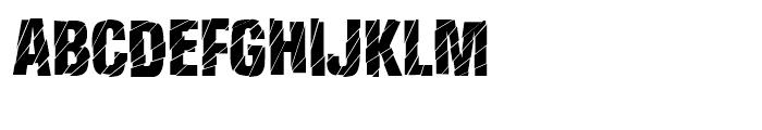 Britva Regular Font UPPERCASE