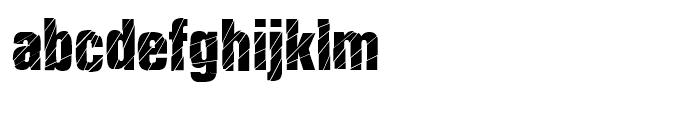 Britva Regular Font LOWERCASE