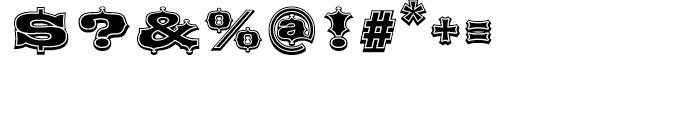 Broadgauge Ornate Regular Font OTHER CHARS