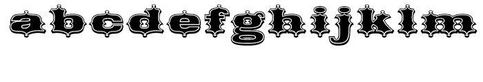 Broadgauge Ornate Regular Font LOWERCASE