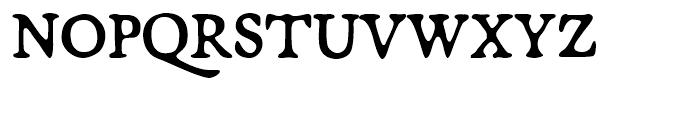 Broadsheet Regular Font UPPERCASE