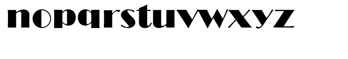 Broadway Standard D Font LOWERCASE