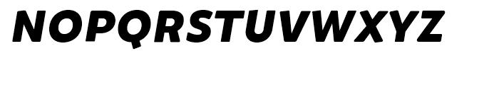Brocha Black Italic Font UPPERCASE