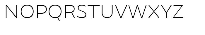 Brocha Thin Font UPPERCASE
