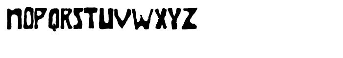 Brolga Regular Font UPPERCASE