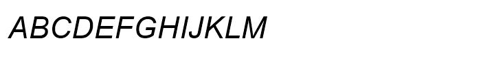 BrowalliaUPC Italic Font UPPERCASE