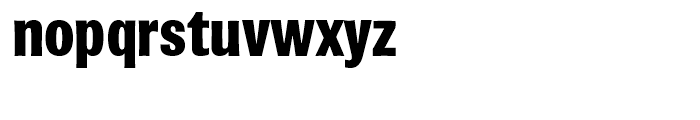 Brown Black Font LOWERCASE