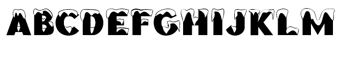 Brrrr Regular Font UPPERCASE