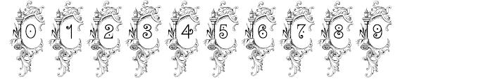 Bruce 1065 Ornamental Font OTHER CHARS