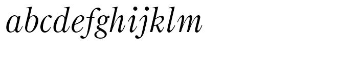 Bruce Old Style Italic Font LOWERCASE