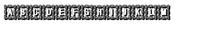 Bruce Ornament Shadow Font UPPERCASE