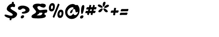 Bruschetta Regular Font OTHER CHARS