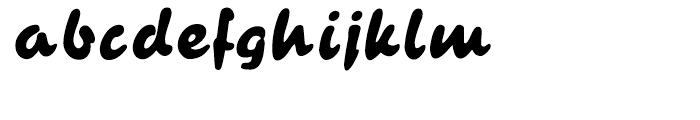 Bruschetta Regular Font LOWERCASE