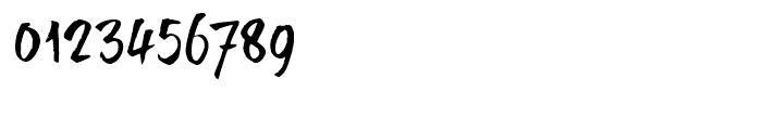 BrushTip Texe Regular Font OTHER CHARS