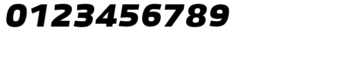 Bruum FY Black Italic Font OTHER CHARS