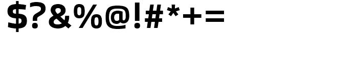 Bruum FY Bold Font OTHER CHARS