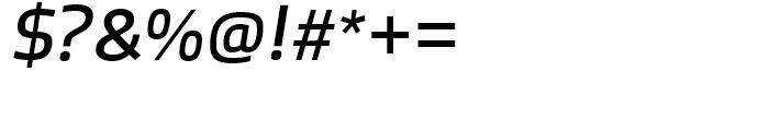 Bruum FY Italic Font OTHER CHARS