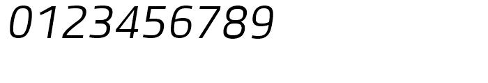 Bruum FY Light Italic Font OTHER CHARS