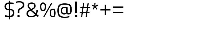 Bruum FY Light Font OTHER CHARS
