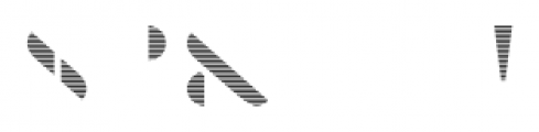 Braga Horizontal Font OTHER CHARS