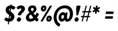 Brandon Grotesque Black Italic Font