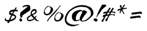 Breezy Regular Font OTHER CHARS