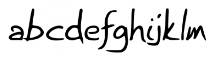 Briskly Regular Font LOWERCASE