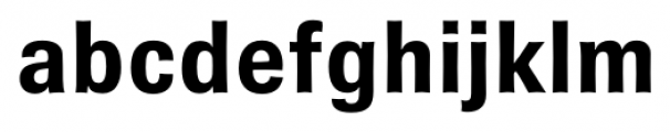 Brown Gothic Bold Font LOWERCASE