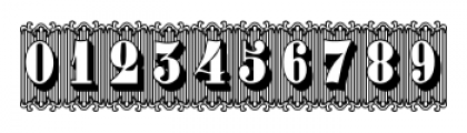 Bruce 1490 Regular Font OTHER CHARS