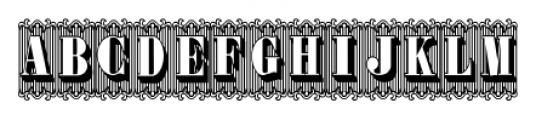 Bruce 1490 Regular Font UPPERCASE